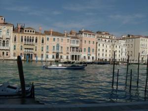 Le grand Canal CP Karim TATAI Regard brut sur Venise