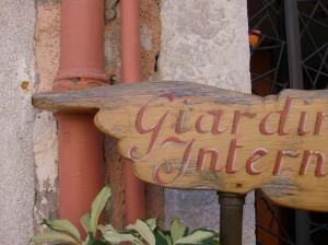 jardin intérieur Karim TATAI Regard brut sur Venise