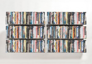 rangées-DVD-