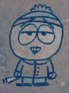 Enfant-grafiti CP Karim TATAI Strasbourg