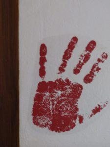main rouge CP Karim TATAI-Strasbourg
