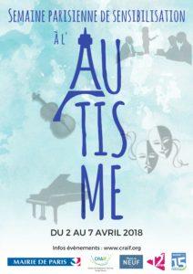 Semaine parisienne de sensibilisation à l'autisme 2018