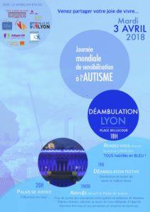 journée de l'autisme à Lyon