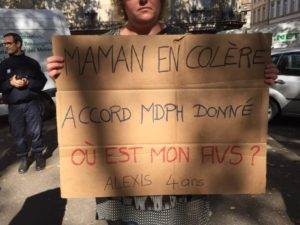 Où est mon AVS ? Manifestation 18-9-2019