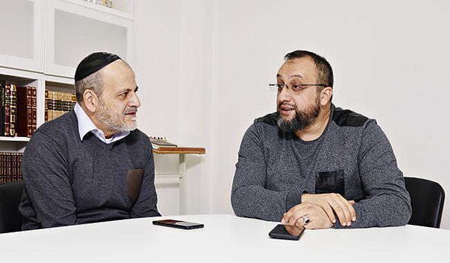 Stéphane Benhamou et Daoud Tatou