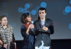 Louis Larochelle Palme Coup de Coeur festival Entreprise et handicap : ça tourne