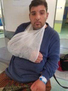 Karim, autiste, arrivee aux urgences